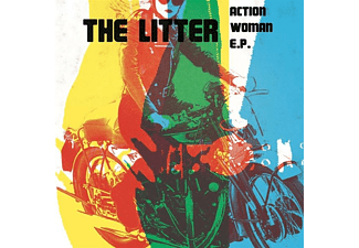 The Litter - Action Woman EP - (Vinyl)
