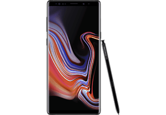 SAMSUNG Galaxy Note9, Smartphone, 128 GB, Midnight Black, Dual SIM