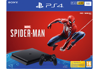 PLAYSTATION PS4 Slim 1TB + Marvel's Spider-Man (9733010)