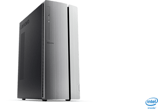 LENOVO IdeaCentre 510, PC Desktop mit Core i3 Prozessor, 8 GB RAM, 1 TB HDD, UHD-Grafik 630