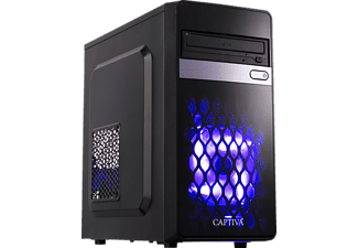 CAPTIVA Gaming  I45-846, Gaming PC mit Core™ i7 Prozessor, 16 GB RAM, 240 GB SSD, 1 TB HDD, GeForce GTX 1060, 6 GB GDDR5 Grafikspeicher