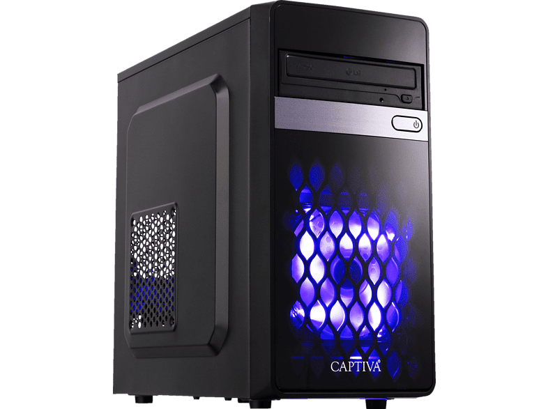 CAPTIVA Gaming I45-846, PC mit Core™ i7 Prozessor, 16 GB RAM, 240 SSD, 1 TB HDD, GeForce® GTX 1060, 6 GDDR5 Grafikspeicher