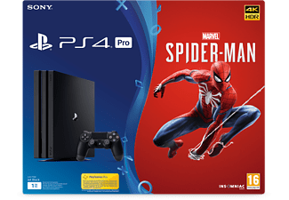 PLAYSTATION PS4 Pro 1 TB + Marvel's Spider-Man (9406372)