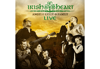 Angelo & Family Kelly - Irish Heart - Live (CD & DVD) - (CD)