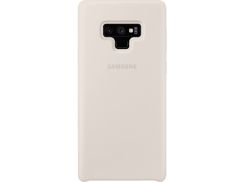 SAMSUNG  Silicon Cover Backcover Samsung Galaxy Note9 Silikon Ivoryweiss | 08801643334871