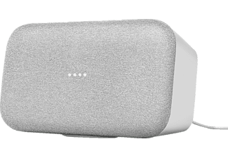 GOOGLE Home Max Smart Speaker mit Sprachsteuerung, Kreide
