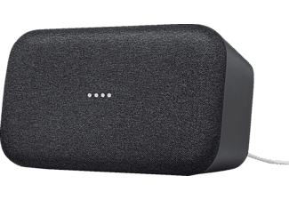 GOOGLE Home Max Smart Speaker mit Sprachsteuerung, Karbon