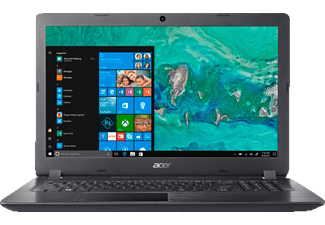 ACER Aspire 3 (A315-51-39US), Notebook, Core™ i3 Prozessor, 8 GB RAM, 1 TB HDD, HD Grafik 520, Schwarz