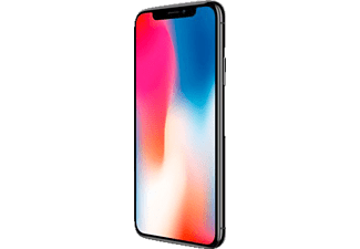 APPLE iPhone X, Smartphone, 64 GB, Space Grey