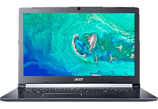 ACER Acer Aspire 5 (A517-51-57MK), Notebook mit 17.3 Zoll Display, Core™ i5 Prozessor, 8 GB RAM, 1 TB HDD, UHD Graphics 620, Schwarz