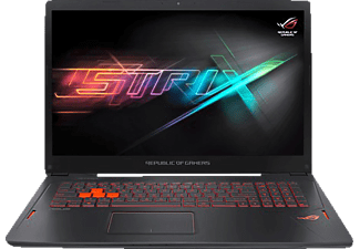 ASUS GL702VS-BA007T, Gaming Notebook mit 17.3 Zoll Display, Core™ i7 Prozessor, 16 GB RAM, 1 TB HDD, 256 GB SSD, GeForce GTX 1070, Schwarz