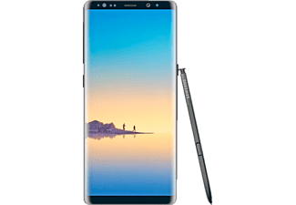 SAMSUNG Galaxy Note8, Smartphone, 64 GB, Midnight Black