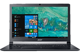 ACER Aspire 5 (A517-51G-5826), Notebook mit 17.3 Zoll Display, Core™ i5 Prozessor, 8 GB RAM, 128 GB SSD, 1 TB HDD, GeForce® MX130, Schwarz