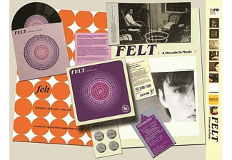 Felt - Forever Breathes The Lonely Word (CD+7'' Box Set) - (CD)
