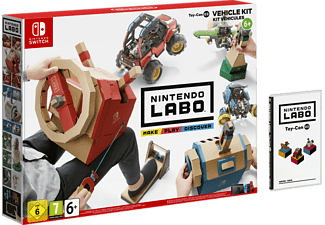 Switch Nintendo Labo - Toy-Con (03) Kit de vehículos
