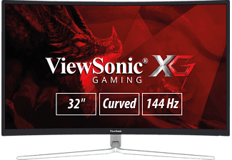 VIEWSONIC XG3202-C 32 Zoll Full-HD Monitor (6 ms Reaktionszeit, 144 Hz)