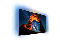 PHILIPS 55OLED803 OLED TV (Flat, 55 Zoll/139 cm, UHD 4K, SMART TV, Ambilight, Android TV)