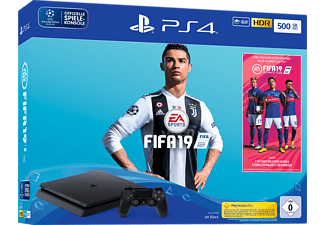 SONY Playstation 4™ 500GB Jet Black / EA Sports Fifa 19-Bundle