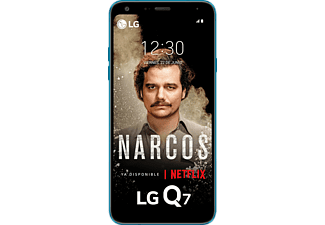 "Móvil - LG Q7, 5.5"", Full HD, MediaTek 6750S, 3 GB RAM, 16 MP + 8 MP, Negro"