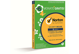 Norton Security Del. 3.0 GE 1 User 5 Devices 18M
