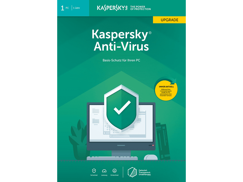 Kaspersky Anti-Virus Upgrade (Code in a Box) (FFP)