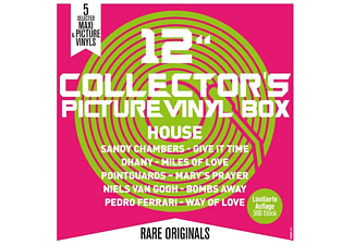 "VARIOUS - 12"" Collector s Picture Vinyl Box-House - (Vinyl)"