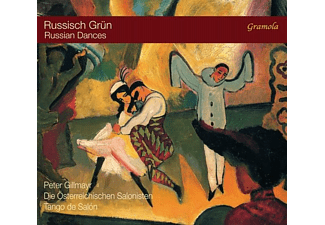 Gillmayr/Österr.Salonisten/Tan - Russisch Grün-Russian Dances - (CD)