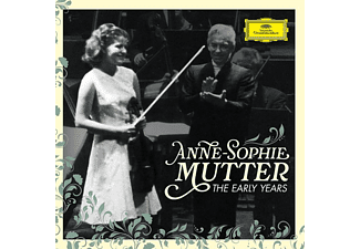 Anne-Sophie Mutter, Berliner Philharmoniker - Anne-Sophie Mutter-The Early Years (Ltd.Edt.) - (CD + Blu-ray Disc)