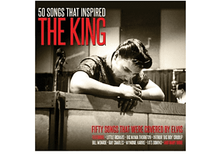 VARIOUS - Songs That Inspired The King - (CD)