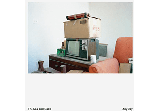 The Sea And Cake - Any Day (Ltd.Clear Vinyl LP+MP3) - (LP + Download)