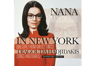 Nana Mouskouri - In New York/Tragouda Hadjidakis - (CD)
