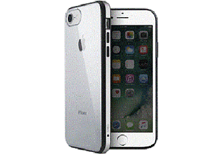UNIQ Cover Valencia Clear Gunmetal iPhone 7 / 8 Zilver (107553)