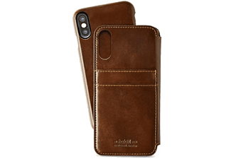 HOLDIT Cover Wallet Slim Style iPhone X Brun (613420)
