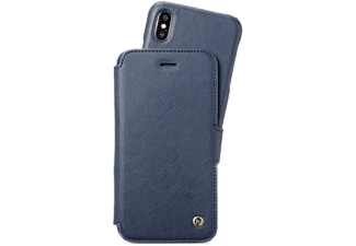 HOLDIT Cover Wallet Slim Style Royal Blue iPhone X Blauw (613418)