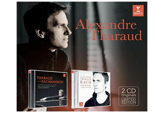 Alexandre Tharaud - Tharaud plays Rachmaninov / Bach Goldberg Variations CD