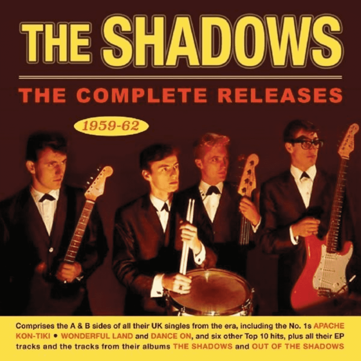 Complete Releases 1959-62 The Shadows auf CD