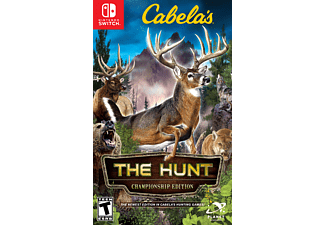 Cabela's: The Hunt - Championship Edition FR/UK Switch + fusil de chasse