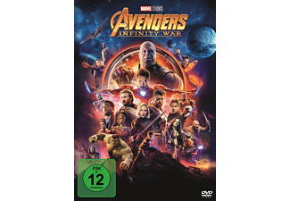 Avengers Infinity War Action DVD