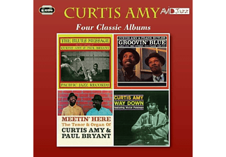 Curtis Amy - Four Classic Albums - (CD)