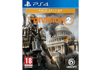 Tom Clancy's The Division 2 Gold Edition NL/FR PS4