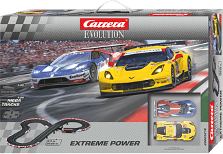 CARRERA (TOYS) EVOLUTION - EXTREME POWER Rennbahn, Mehrfarbig