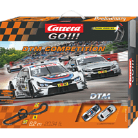 CARRERA (TOYS) DTM Competition Rennbahn, Mehrfarbig
