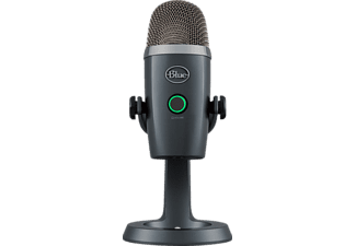 BLUE MICROPHONES Yeti Nano Premium, USB Mikrofon, Shadow Grey