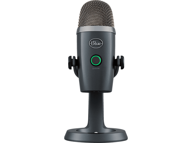 BLUE MICROPHONES Yeti Nano Premium USB Mikrofon, Shadow Grey