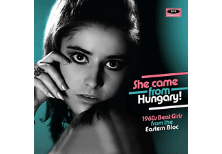 VARIOUS - She Came From Hungary! 1960s Beat Girls From The E - (CD)