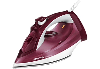 PHILIPS Dampfbügeleisen GC2997/40 PowerLife rot