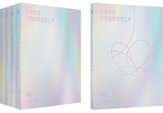 BTS - Love Yourself: Answer (CD + könyv)