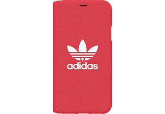 ADIDAS ORIGINAL OR Booklet Handyhülle, Apple iPhone X, Rot