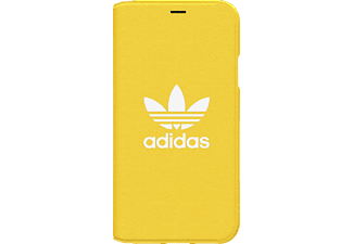 ADIDAS ORIGINAL OR Booklet Handyhülle, Apple iPhone X, Gelb