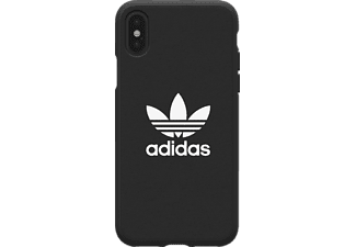 ADIDAS Moulded Case Handyhülle, Schwarz, passend für Apple iPhone X